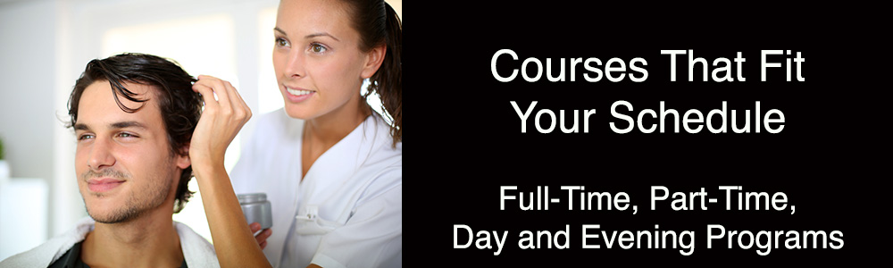 Courses That Fit Your Schedule - full time, part-time, day and evening programs