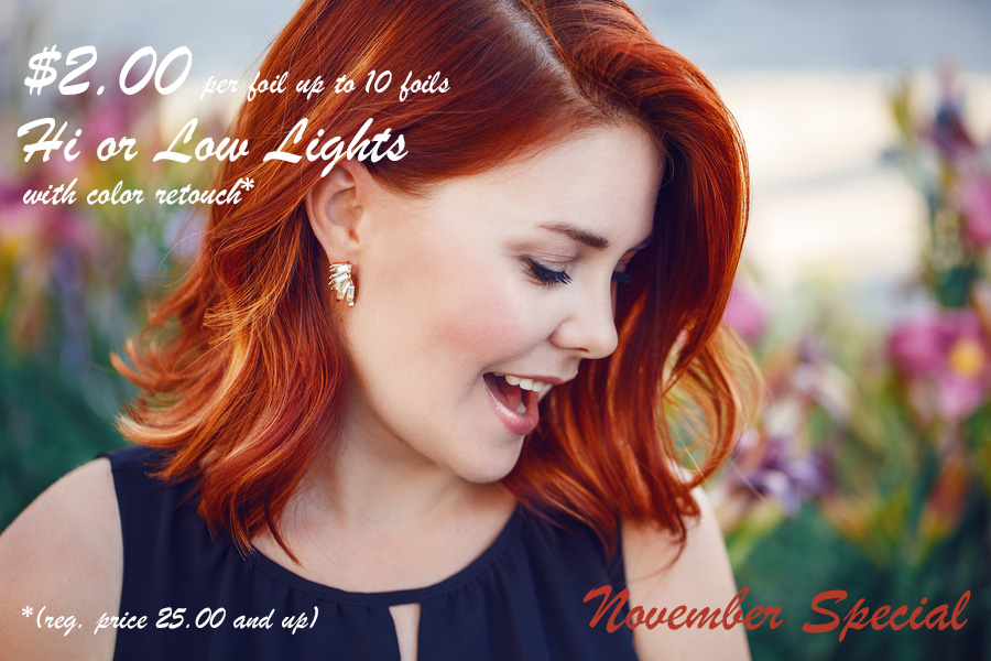 November Salon Special