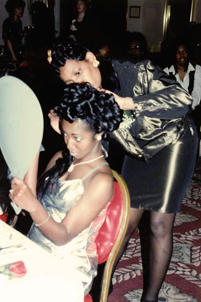 Long Island Beauty School Student Up-Do Competition