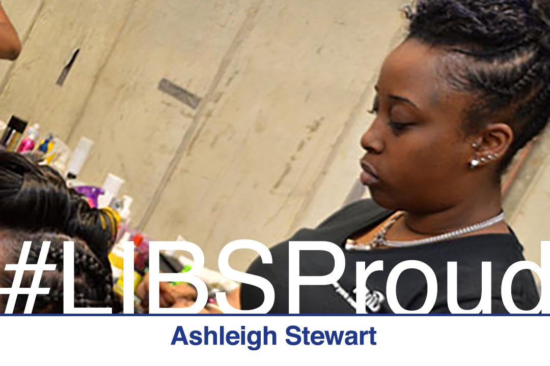 Graduate Ashleigh Stewart