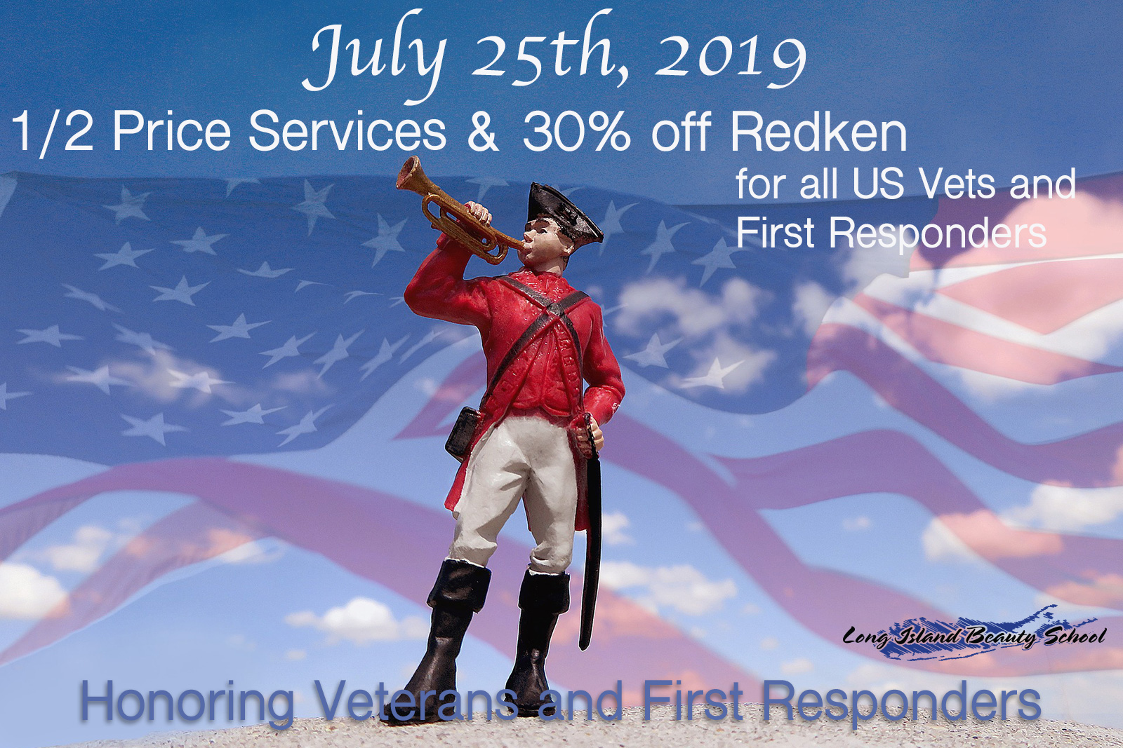 First Responders July 25th Salon Special