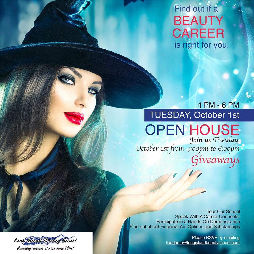 Long Island Beauty School October Open House
