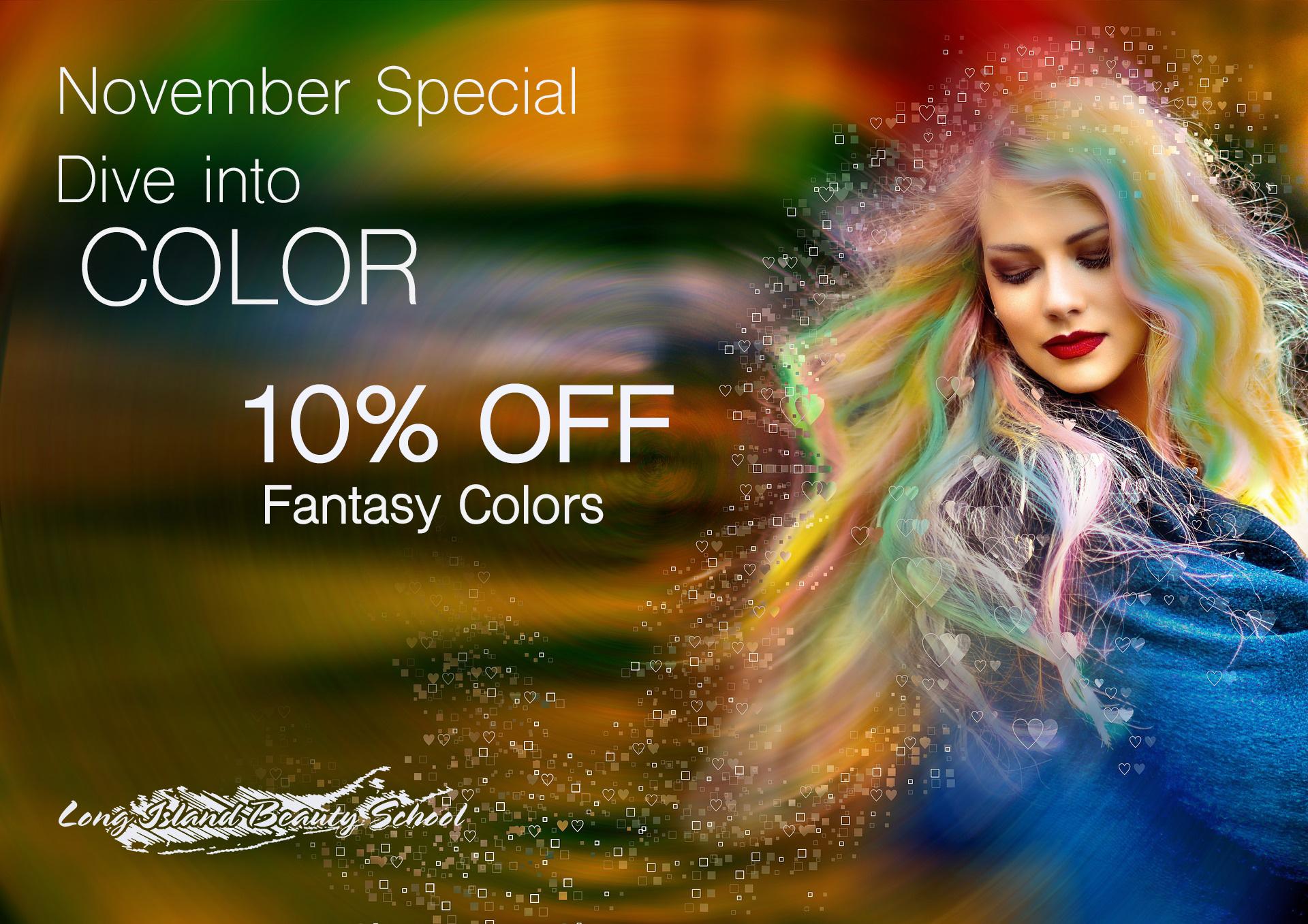 November Hair Color Special