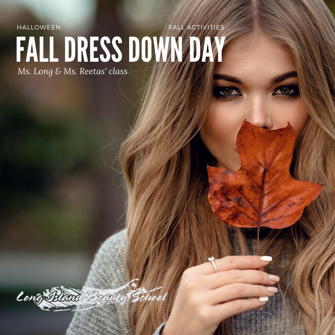 fall dress down day
